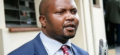 Kenyans react to Moses Kuria's middle finger show in court (photos)