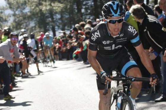 Un ciclista colombiano, la mano derecha de Froome para el Tour