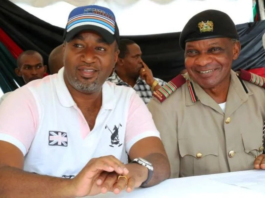 You will not recognise coast regional coordinator Nelson Marwa if you met him without a police beret/kofia (photo)