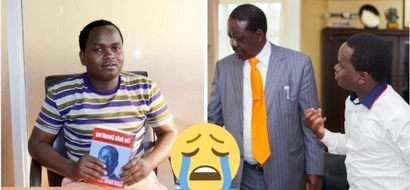 Raila speaks about mysterious disappearance of author of damning book about him