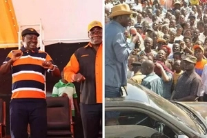 ODM reveals Nairobi constituencies that they will LOSE to Jubilee