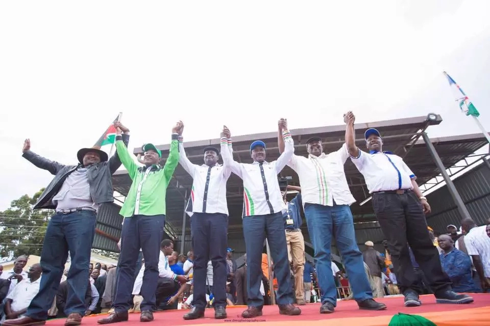 Raila discusses NASA splitting