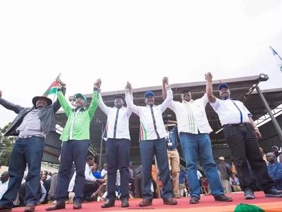 Former Taity MP says swearing Raila Odinga is a big joke