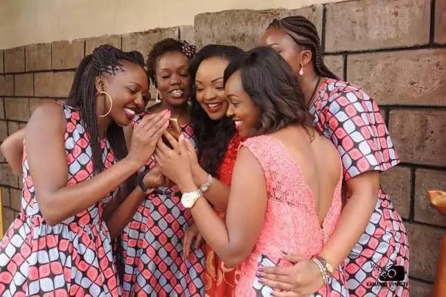 Former NTV news anchor in a private wedding (Photos)