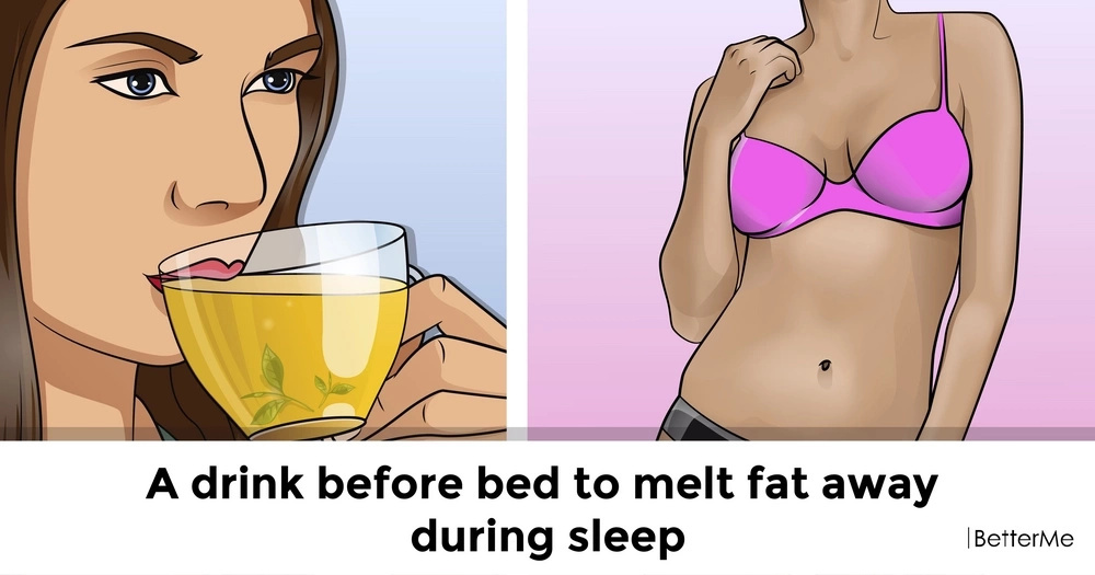 A drink before bed to melt fat away during sleep