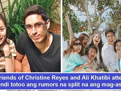 Nagsalita na rin sila! Christine Reyes and Ali Khatibi's friends speak up about the alleged split of the couple