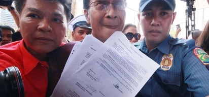 Duterte spokerperson Panelo denies parking violation