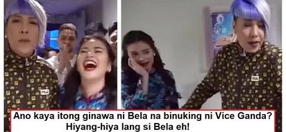Binuking ang sikreto ni Bela! Hilarious video of Vice Ganda revealing Bela Padilla's secret on 'It's Showtime'