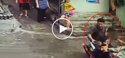 Resilient Pinoy drug suspect gets shot in the face by cop but manages to escape and hijack motorcycle
