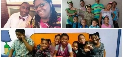 God's blessing! Meet mother of ten children who gave birth to 3 sets of TWINS (photos)