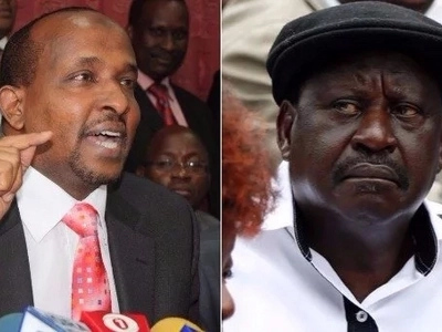 You are no longer relevant, exit politics quietly - Duale hits out at Raila