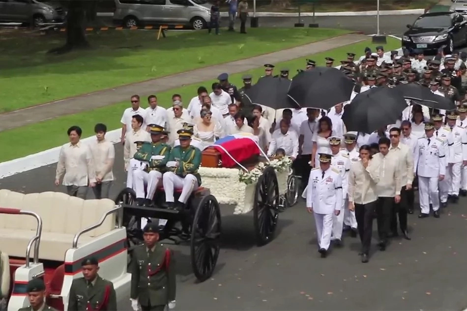 Aiza and partner condemn burial of dictator at LNMB