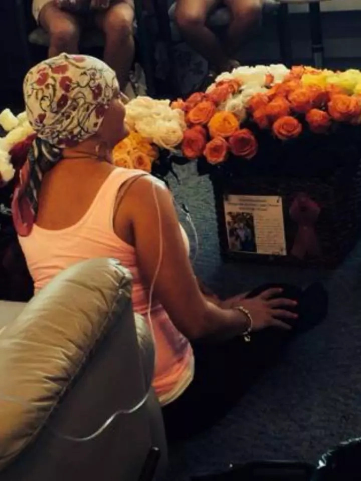 Husband surprises cancer-stricken wife