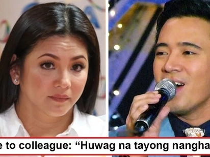 Di niya tatalikuran ang GMA! Regine Velasquez tells colleagues who urge her to transfer to rival network, 'Huwag na tayong nanghahatak!'