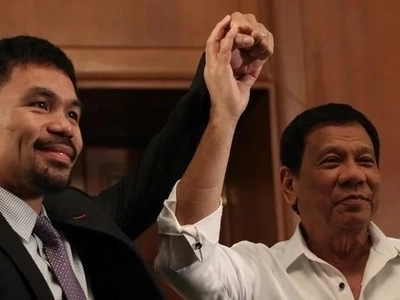 Pacman para sa presidente? Manny Pacquiao admits he might run for president