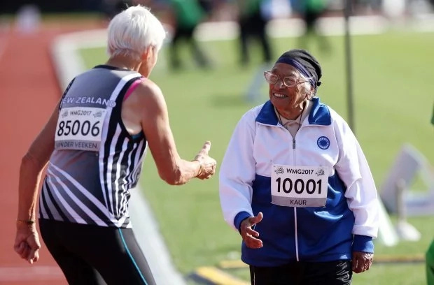 101-year-old woman wins 100m sprint, bags her 17th gold medal