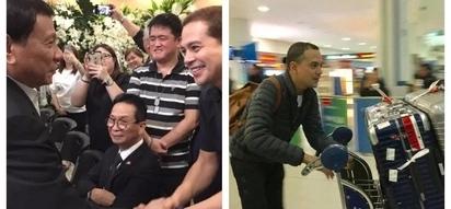 Sinusulit ang leave! After meeting President Duterte, John Lloyd Cruz gets spotted in New York City
