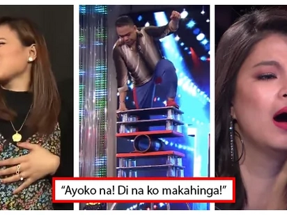 'Kung malaglag ka, sasakalin kita': Angel Locsin and Toni Gonzaga were worried sick watching this dangerous PGT audition