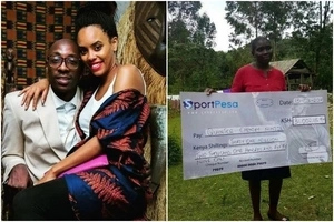 Top Kenyan musician tries to woo the KSh 31 million SportPesa winner, what follows is interesting