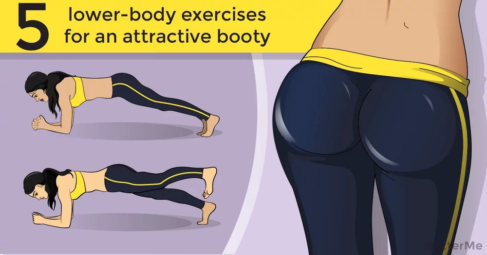5 lower-body exercises for an attractive booty