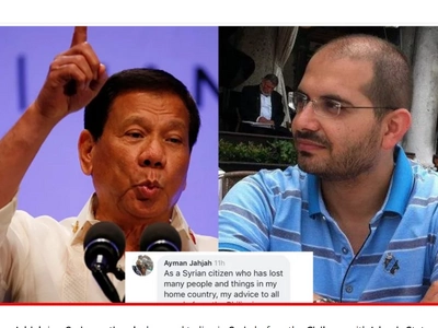 Syrian National Tells Filipinos to Support President Duterte To Keep Them Safe From ISIS!