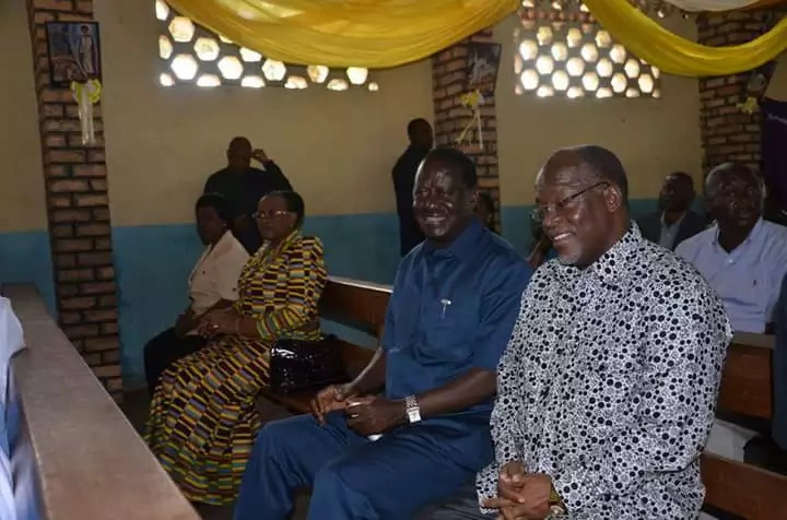 Raila completes his three-day holiday in Tanzania