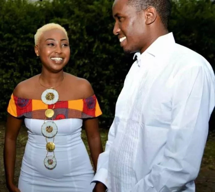 Singer Vivian finally off the shelf as she celebrates lovely traditional wedding with fiancee Sam West