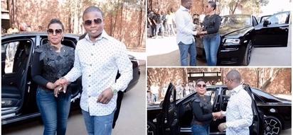 Man praises wife who presented him luxury Rolls-Royce