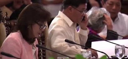 WATCH: Leni, Rody attend their first cabinet meeting together