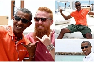 African man resembles Barack Obama so much that he has become a CELEBRITY (photos)
