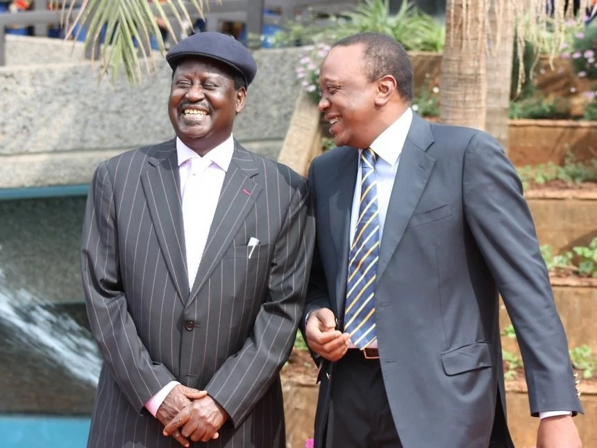 Raila Odinga blasts Uhuru over Western Kenya