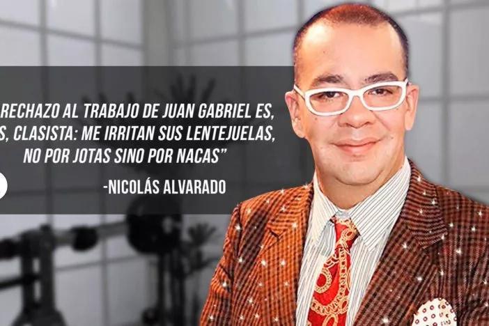 Por llamar naco a Juan Gabriel periodista renuncia a su trabajo