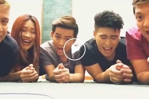 Ginalingan! Filipino singing group covers Ritemed jingle in amazing acappella