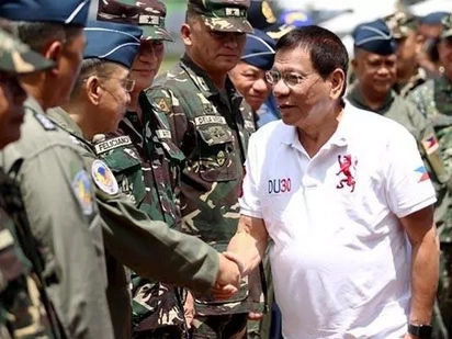 Duterte to PH military: Be loyal to the country and I will be loyal to you