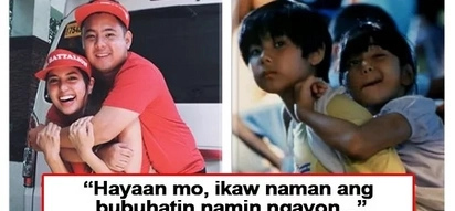 Siya naman ang bumuhat sa 'kuya' niya! 'Magnifico' star Isabella de leon has a sweet message for Jiro Manio as they recreate the iconic movie poster
