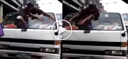 #MeetWiperMan: Video of a guy who manually wipes car went viral!