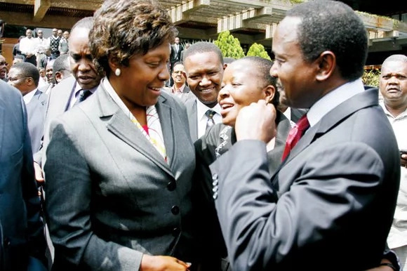 Charity Ngilu lauds Raila's role as opposition leader