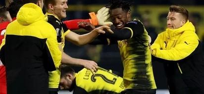 Borussia Dortmund 91st minute victory over Atlanta
