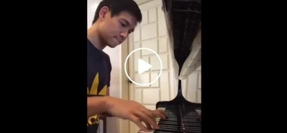 Who knew this professional basketball player has an incredible talent at playing the piano?