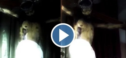 VIDEO: Statue of Jesus OPENS its eyes inside a church! Is it a MIRACLE or a hoax?