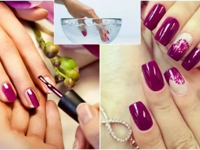 1 minuto para pintarse las uñas todo gracias a este truco para un secado súper rápido