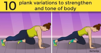 10 plank variations to strengthen and tone of body