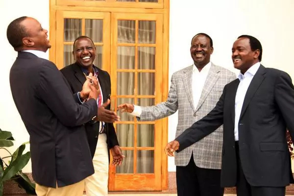 Uhuru discusses his relationship with Raila Odinga