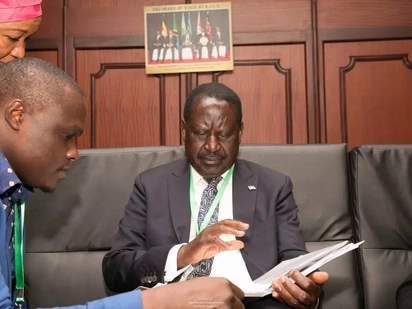 NASA CEO says that one of the option they have considered is to swear in Raila Odinga