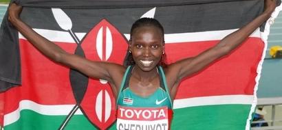 BREAKING: How Vivian Cheruiyot Won Gold For Kenya In 10,000 Meters!
