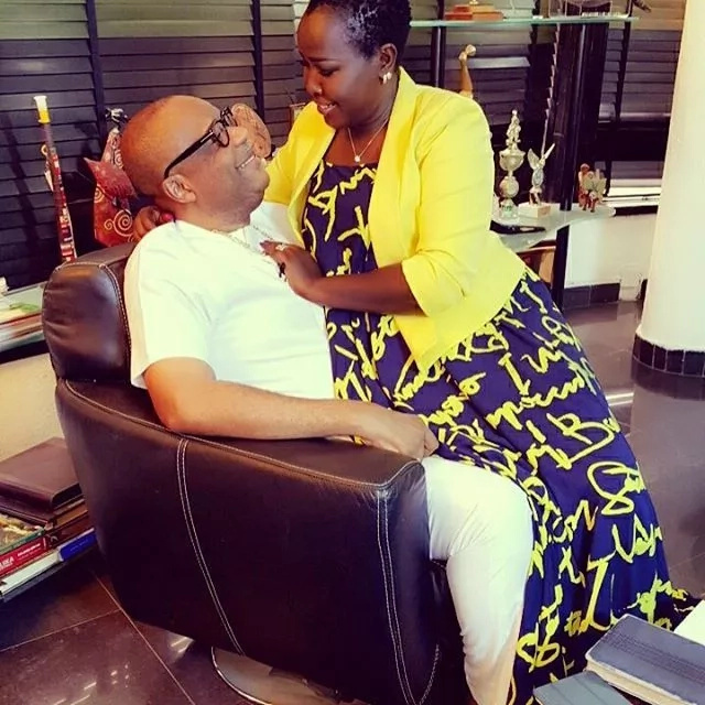 Pastor Anselm Madubuko's Kenyan wife shares loving Valentine message to her beau
