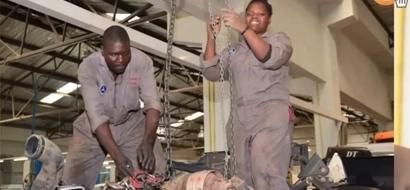 Kutana na fundi mwanamke, 24, anayetengeneza magari ya Rais Uhuru-Picha