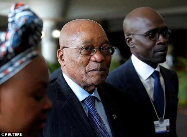 President Zuma has been under pressure over his perceived close relationship with the Guptas