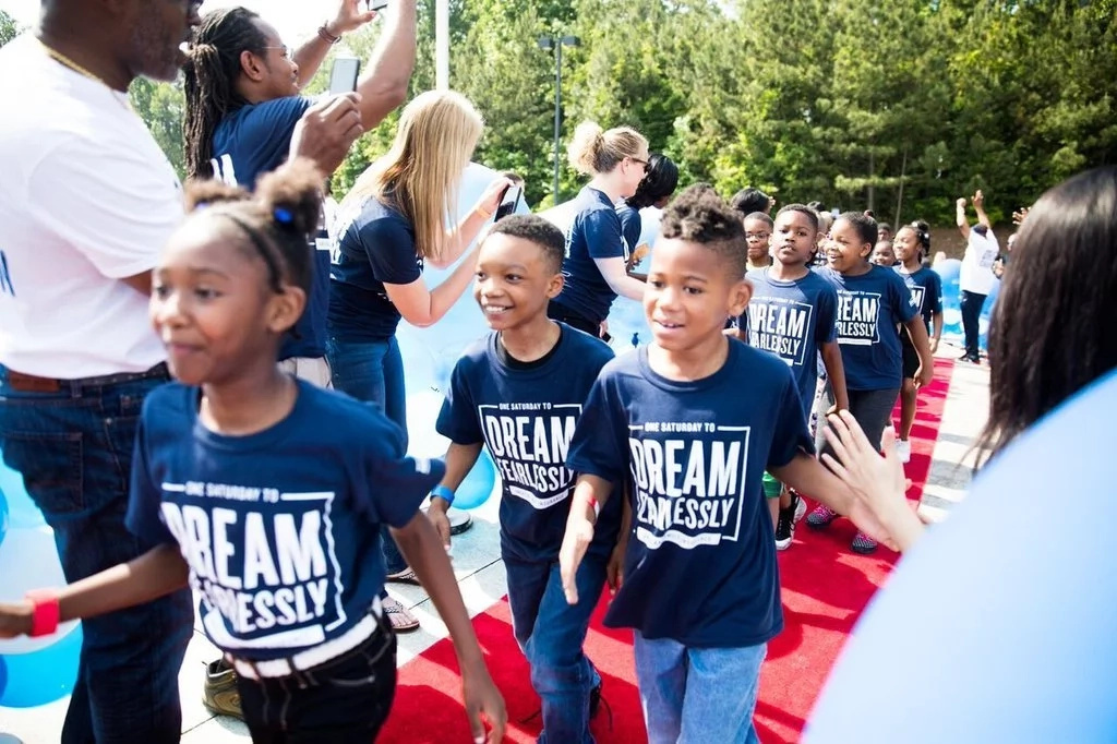 The initiative encourages young kids to dream big