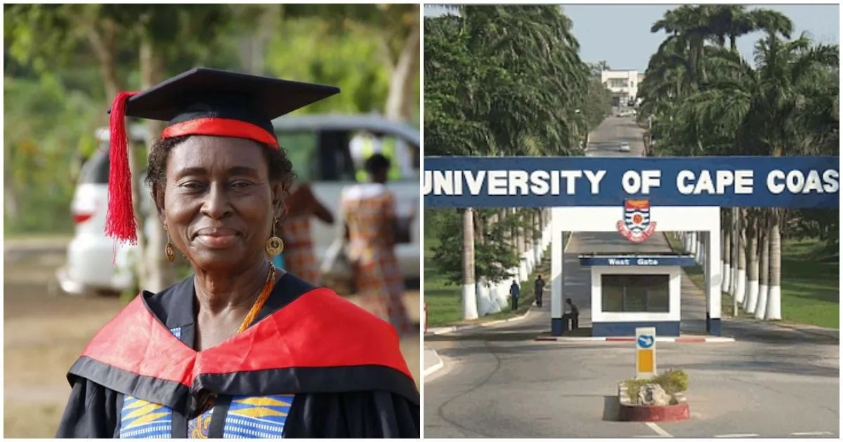 Meet beautiful 70-year-old woman who graduates with Master of Arts degree (photo, video)